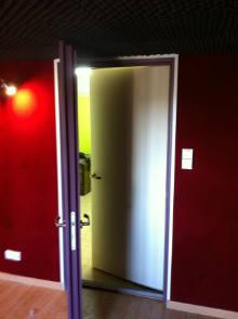 SONEX Fourniture De Porte Acoustique à Haut Pouvoir Isophonique - Porte isophonique
